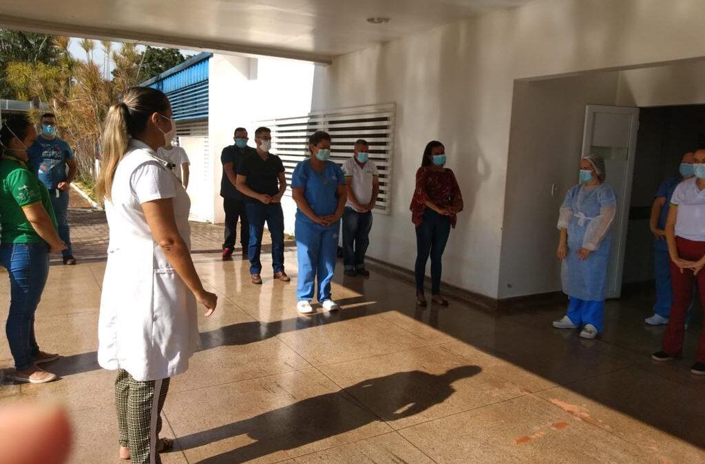 HEJA promove ginástica laboral para colaboradores